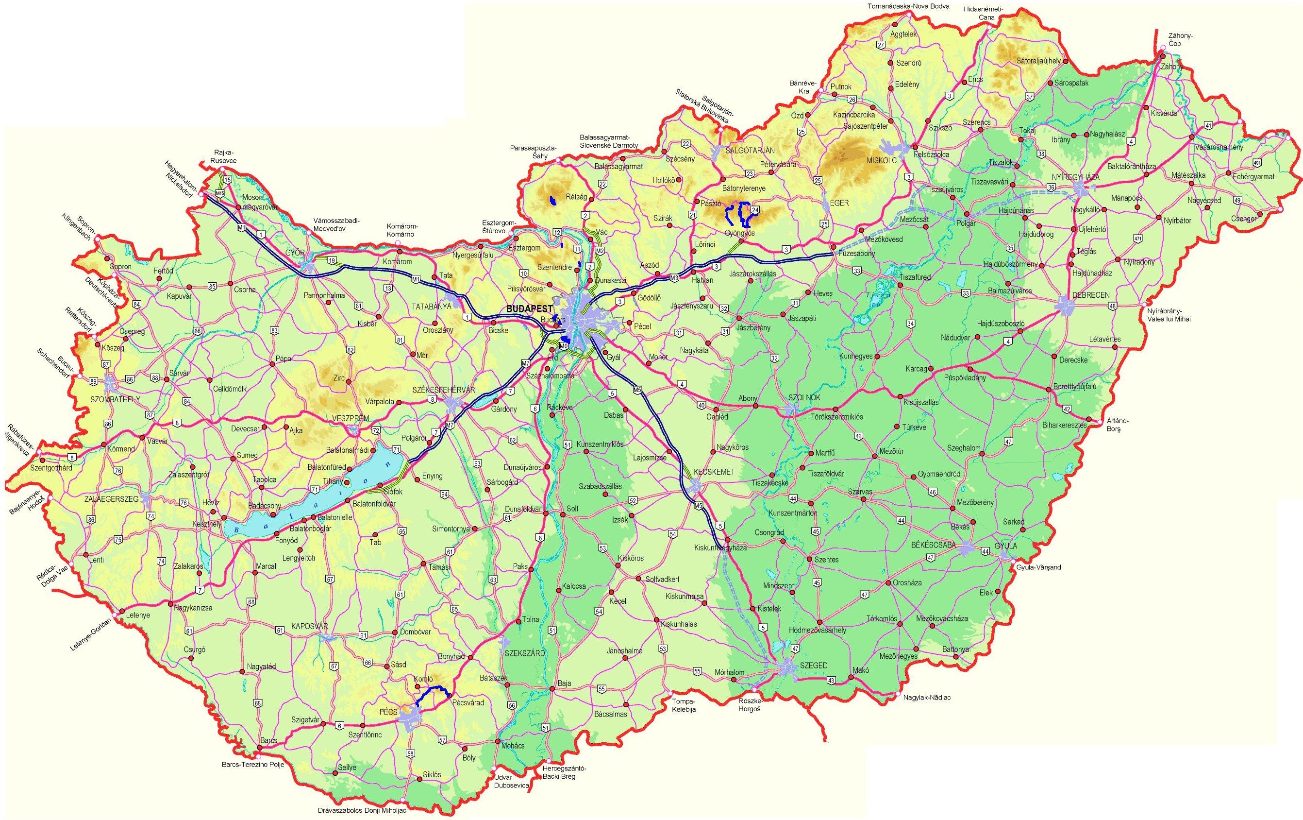 magyarország térkép m6 Építéstörté  m60.hu magyarország térkép m6